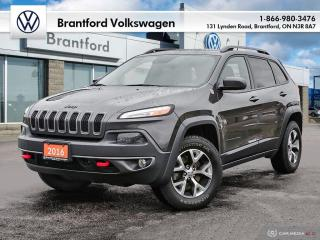 Used 2016 Jeep Cherokee 4X4 TRAILHAWK for sale in Brantford, ON