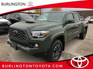 New 2021 Toyota Tacoma 4x4 Double Cab Auto for sale in Burlington, ON