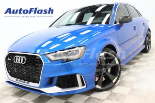 Used 2019 Audi RS 3 RS3* 400HP* PERFORMANCE-PACKAGE* TOP-SPEED-280KPH* for sale in Saint-Hubert, QC