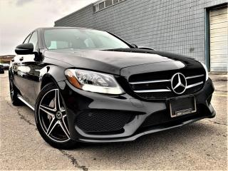Used 2017 Mercedes-Benz C-Class C300 4MATIC|PANORAMIC|NAVI|360 |MEMORY SEATS|AMG ALLOYS! for sale in Brampton, ON