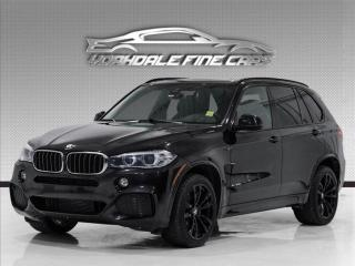 Used 2017 BMW X5 xDrive35d, M Sport, Navi, HUD, Cam, Clean for sale in Concord, ON