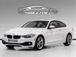 Used 2016 BMW 4 Series 428i xDrive, Red Leather,Navi, HUD, Cam, for sale in Concord, ON