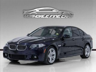 Used 2016 BMW 5 Series 528i xDrive, M Sport, Navigation, HUD, Blind Spot, Loaded for sale in Concord, ON