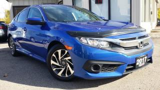 Used 2017 Honda Civic EX Honda Sensing - BACK-UP/BLIND-SPOT CAM! SUNROOF! CAR PLAY! for sale in Kitchener, ON