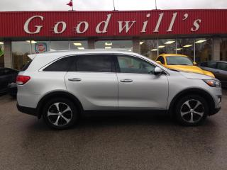 Used 2017 Kia Sorento EX! HEATED LEATHER! BACKUP! BLIND SPOT! for sale in Aylmer, ON