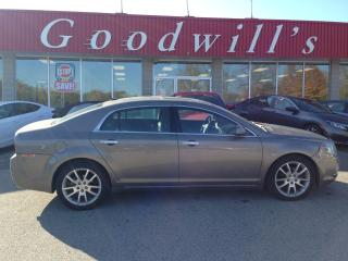 Used 2011 Chevrolet Malibu LTZ! HEATED LEATHER! SUNROOF! REMOTE START! for sale in Aylmer, ON