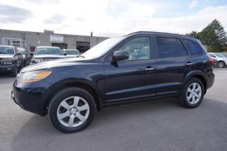 Used 2009 Hyundai Santa Fe AWD LIMITED CERTIFIED 2YR WARRANTY *1 OWNER* SUNROOF HEATED SEATS CRUISE ALLOYS for sale in Milton, ON