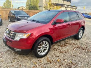 Used 2010 Ford Edge 4dr SEL AWD. pano roof, leather, for sale in Halton Hills, ON