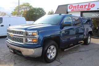 Used 2015 Chevrolet Silverado 1500 4WD Crew Cab LT Back Camera step bars matching cab for sale in Mississauga, ON