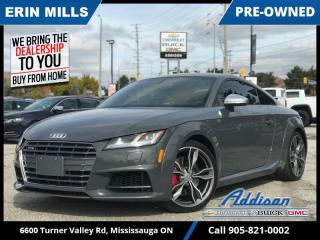 Used 2016 Audi TTS 2.0T Quattro Coupe  VIRTUAL COCKPIT|Express Red diamond-stitched| for sale in Mississauga, ON