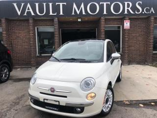 Used 2014 Fiat 500 2dr HB Lounge for sale in Brampton, ON