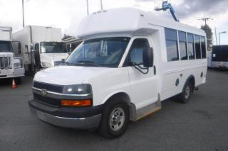 Used 2011 Chevrolet Express G3500 7 Passenger Diesel Bus with Wheelchair Accessibility for sale in Burnaby, BC