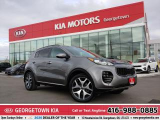 Used 2018 Kia Sportage SX Turbo | AWD | LTHR | NAV | PANO ROOF | 52,414K for sale in Georgetown, ON