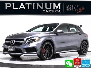 Used 2015 Mercedes-Benz GLA GLA45 AMG, 355HP, AWD, NAV, PANO, CAM, HEATED, BT for sale in Toronto, ON