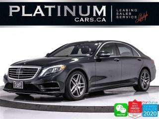 Used 2014 Mercedes-Benz S-Class S550 4MATIC, DISTRONIC PLUS, MASSAGE, CAM, NAV, BT for sale in Toronto, ON