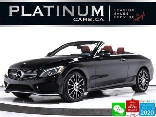 Used 2017 Mercedes-Benz C-Class C300 4MATIC CONVERTIBLE, AMG, NAV, HEATED, BT, for sale in Toronto, ON