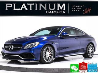 Used 2017 Mercedes-Benz C-Class AMG C63 S, 503HP, COUPE, NAV, BURMESTER, HUD, CAM for sale in Toronto, ON