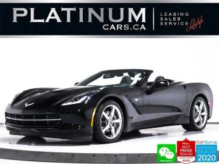 Used 2015 Chevrolet Corvette Stingray, 3LT, 455HP, AUTO, NAV, CAM, HUD, VENT for sale in Toronto, ON