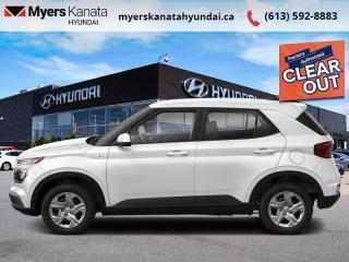 New 2021 Hyundai Venue Essential IVT  - $131 B/W for sale in Kanata, ON