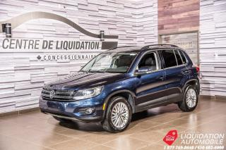 Used 2015 Volkswagen Tiguan Comfortline+AWD+GR/ELECT+CAM/RECUL+TOIT for sale in Laval, QC