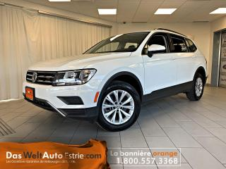 Used 2019 Volkswagen Tiguan Trendline 4Motion, automatique for sale in Sherbrooke, QC