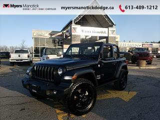 New 2021 Jeep Wrangler Sport  -  Uconnect - $263 B/W for sale in Ottawa, ON