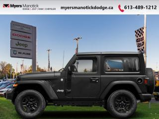 New 2021 Jeep Wrangler Rubicon  - Rubicon Decal -  Dana Axles - $351 B/W for sale in Ottawa, ON