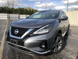 Used 2020 Nissan Murano Platinum AWD for sale in Cayuga, ON
