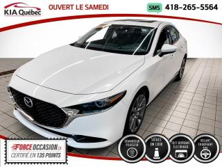 Used 2019 Mazda MAZDA3 *GT*CUIR*BOSE*VOLANT CHAUFFANT* for sale in Québec, QC