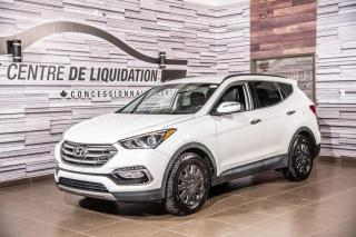 Used 2017 Hyundai Santa Fe Sport Premium+AIR+GR ELECT+SIEGE /CHAUFF+CAM RECUL+BLUE for sale in Laval, QC