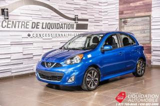 Used 2016 Nissan Micra SR+CAM/RECUL+BLUETOOTH+GR ELECTRIQUE for sale in Laval, QC