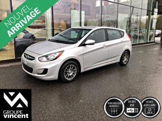 Used 2013 Hyundai Accent L ** GARANTIE 10 ANS ** Peu de kilométrage, un choix incontournable! for sale in Shawinigan, QC