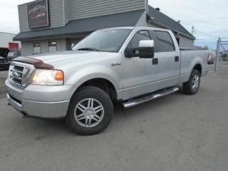 Used 2008 Ford F-150 4 RM, Super cabine multiplaces 150 po, X for sale in Mirabel, QC