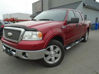 Used 2007 Ford F-150 Cabine Super 4RM 145 po Lariat for sale in Mirabel, QC