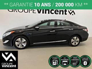 Used 2013 Hyundai Sonata Hybrid Limited  TOIT PANO ** GARANTIE 10 ANS ** Wow tout un deal pour un véhicule hybride! for sale in Shawinigan, QC