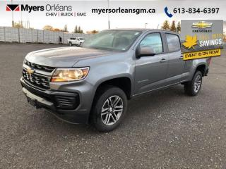 New 2021 Chevrolet Colorado WT  - OnStar - SIriusXM for sale in Orleans, ON