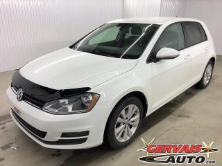 Used 2016 Volkswagen Golf Comfortline Cuir Caméra Bluetooth Mags *Bas Kilométrage* for sale in Shawinigan, QC
