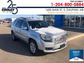 Used 2016 GMC Acadia SLE for sale in Dauphin, MB