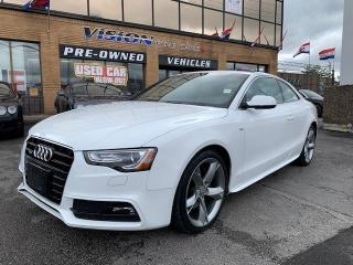 Used 2013 Audi A5 2dr Cpe Auto S-Line / NAVIGATION for sale in North York, ON