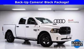 Used 2019 RAM 1500 Classic Night Package w/8.4 Screen *Virtually Brand New* for sale in Winnipeg, MB