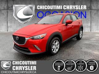Used 2016 Mazda CX-3 Traction avant 4 portes GS for sale in Chicoutimi, QC