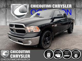 Used 2018 RAM 1500 ST cabine d'équipe 4x4 caisse de 6 pi 4 for sale in Chicoutimi, QC