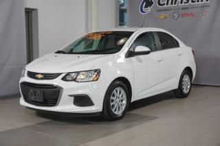 Used 2018 Chevrolet Sonic LT APPLE CARPLAY DEM A DISTANCE SIEGE CHAUFFANT for sale in Montréal, QC