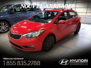 Used 2016 Kia Forte5 EX + GARANTIE + TOIT + CAMERA + A/C + WO for sale in Drummondville, QC