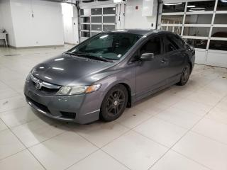 Used 2011 Honda Civic DX + A/C + FIABLE  + MAGS + WOW !! for sale in Drummondville, QC