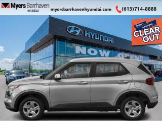 New 2021 Hyundai Venue Trend IVT  - Sunroof - $154 B/W for sale in Nepean, ON