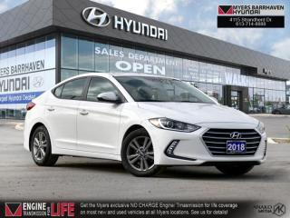 Used 2018 Hyundai Elantra GL  - Heated Seats - $113 B/W for sale in Nepean, ON