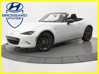 Used 2016 Mazda Miata MX-5 Auto GS Gps bas kilo for sale in Brossard, QC