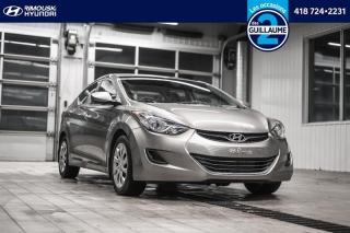 Used 2013 Hyundai Elantra GL chez Rimouski Hyundai for sale in Rimouski, QC