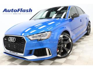 Used 2019 Audi RS 3 RS3* 400HP* PERFORMANCE-PACKAGE* TOP-SPEED-280KPH* for sale in St-Hubert, QC